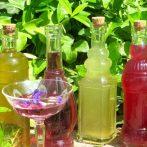 Grüne Drinks & Sirupe mixen by beerenstark/Lecker kreative Sommerdrinks aus Blüten und Kräutern – der Geschmack der Wildnis ruft!